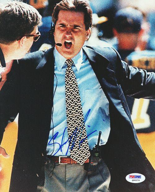 Steve Mariucci Autographed 8x10 Photo 49'ers PSA/DNA