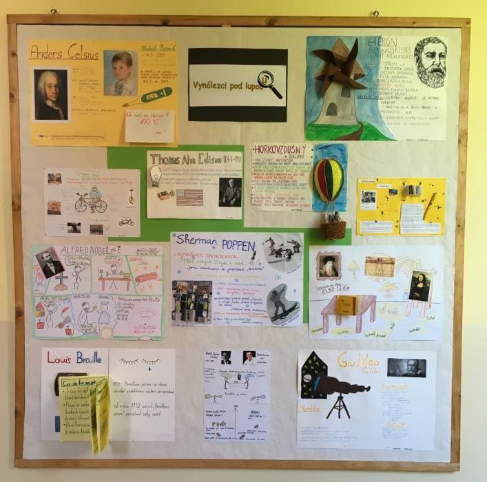 Vynálezci pod lupou - plakáty