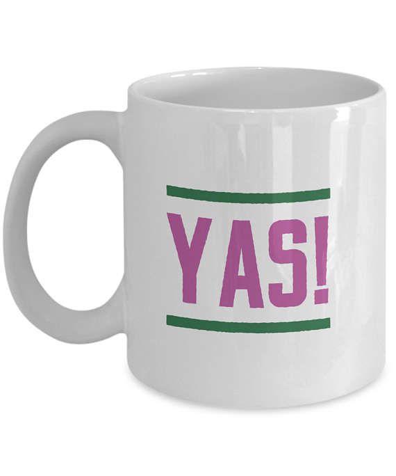 YAS Cool Text Mug Big Font