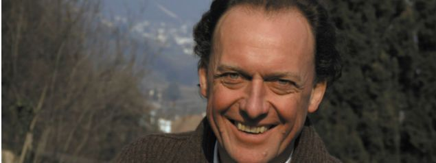 Alois Lageder (* 1950) from Magreid (Alto Adige), a pioneer of new thinking in the old wine world.