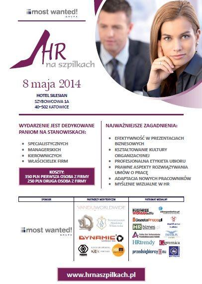 Strona internetowa informująca oraz dająca możliwośc zapisu na kongresy o tematyce hr.  www.hrnaszpilkach.pl