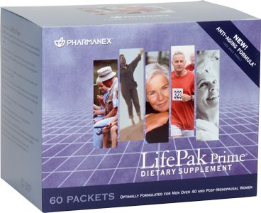 LifePak Prime provides an array of vitamins, minerals, and antioxidants often missing in the average adult diet.*
