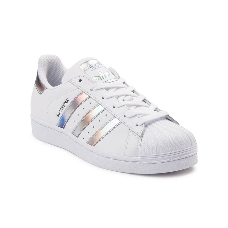 Kick it with the classic Superstar Athletic Shoe from adidas! Lace up the  classic style