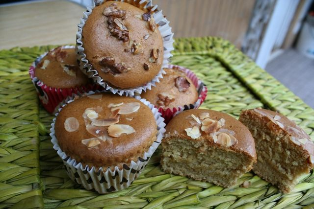 Muffins pere e zenzero   #vegan