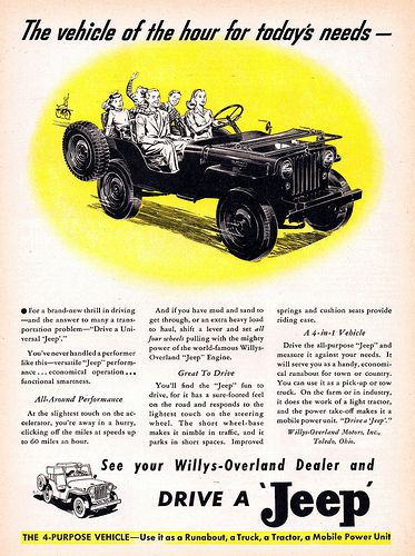 1946 Willys Universal Jeep | by aldenjewell