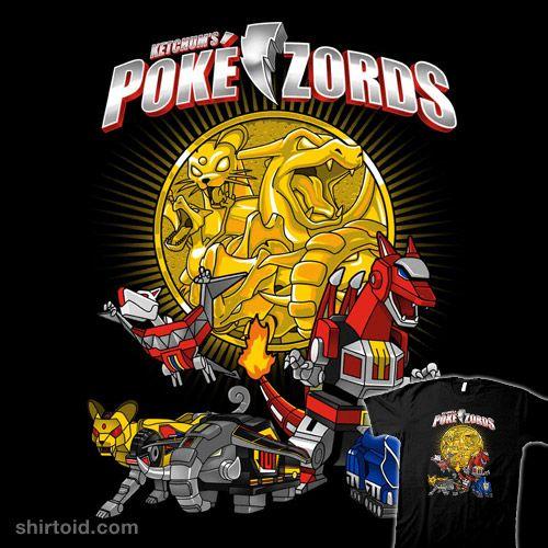Pokézords #anime #batang9tees #gaming #mightymorphinpowerrangers #nintendo #pokemon #tvshow #videogame