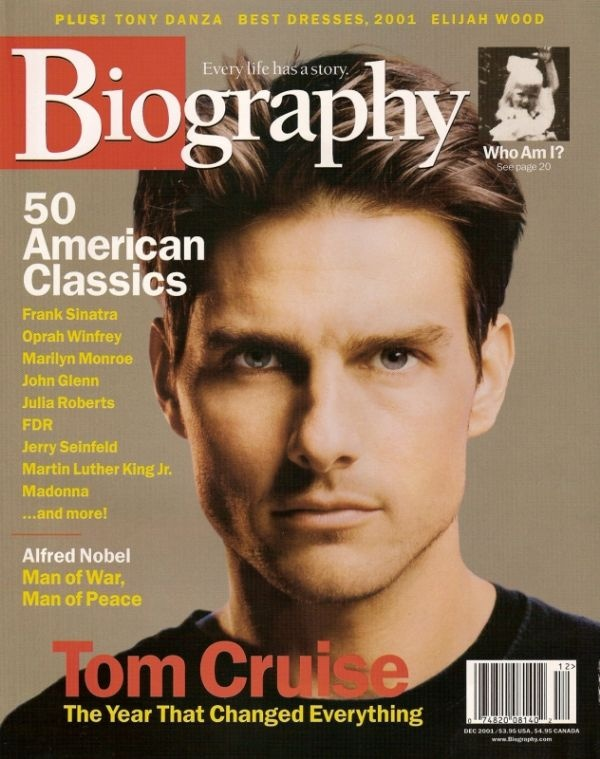 Tom Cruise Biography December 2001