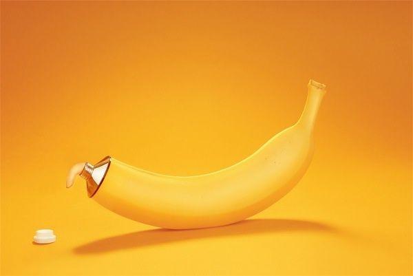 Banane en tube