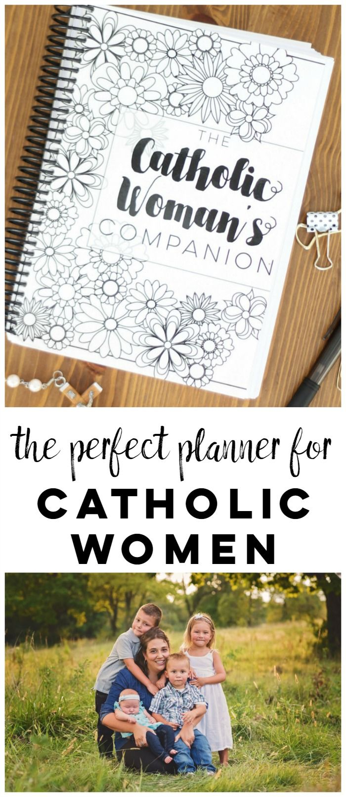 Live better this coming year with a planner designed especially for you. The Catholic Woman's Companion is more than a planner. Along with calendars it offers a place to plan for the liturgical year, the daily readings, a simple 12 month Bible Study, monthly habit trackers, all of the feast days and SO MUCH MORE. Click to find out more!