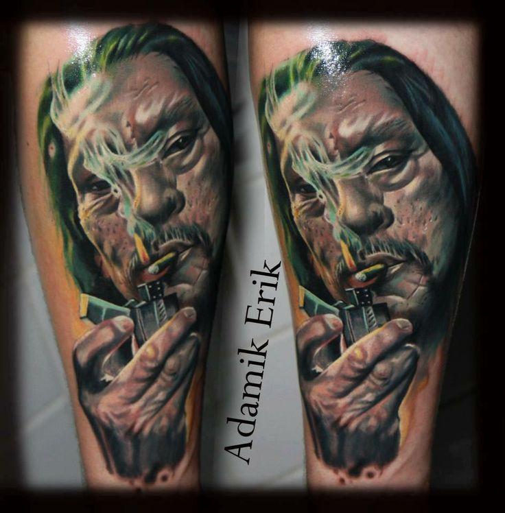 #tattoostudio #nadelwerk #blackandgrey #machette # ...