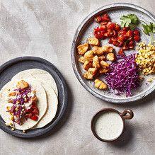 Tupperware - Fish Tacos with Jalapeno Cream