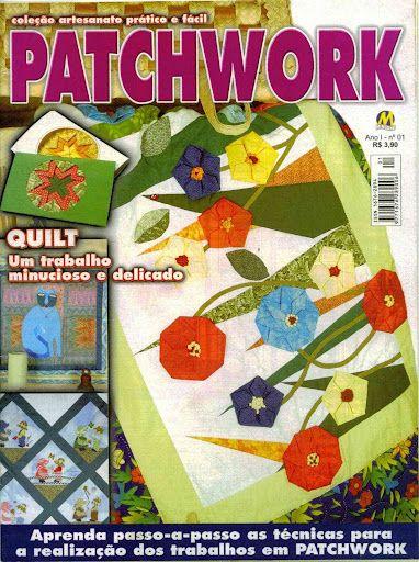 Patchwork nº1- Coleção Artesanato prático e fácil - Velia Telas - Álbumes web de Picasa
