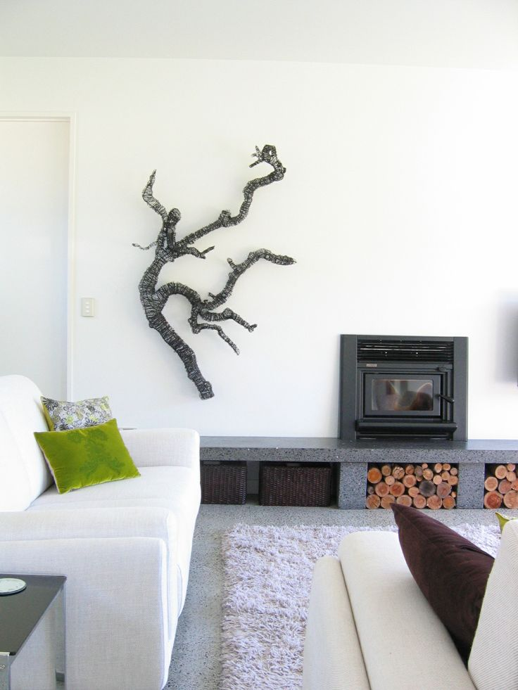 Branch sculpture