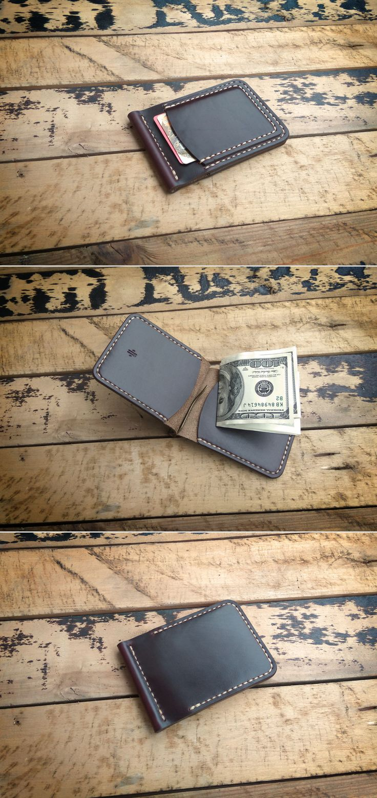 Horween Chromexcel Money Clip Wallet                                                                                                                                                                                 More