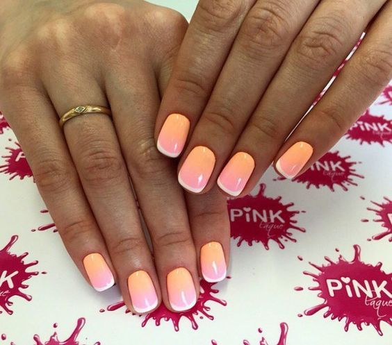 Beautiful French Nail Art Designs: 1000+ Ideas About Color French Manicure On Pinterest