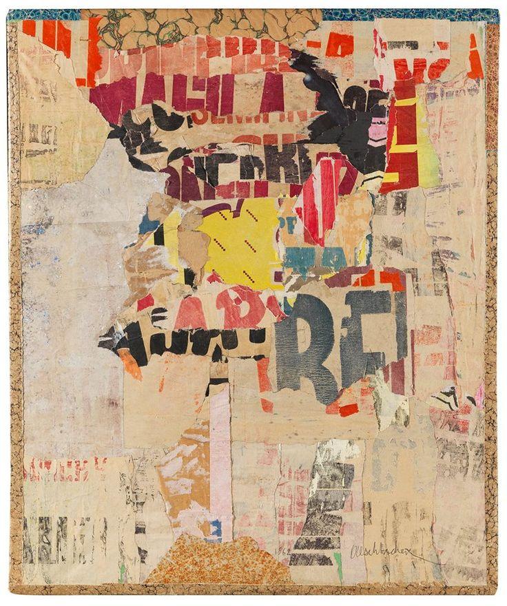 Arthur Aeschbacher (b. 1923) La Pluie - l'Espace, 1962