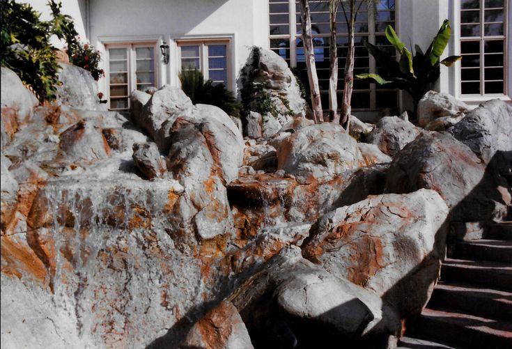 Realizations Gallery   Rockscapes Unlimited   Backyard ... on Backyard Rockscape Ideas id=44905