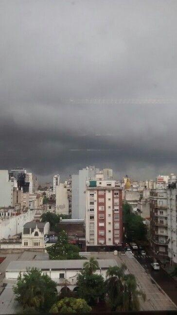 Nubes sobre Buenos Aires - Argentina