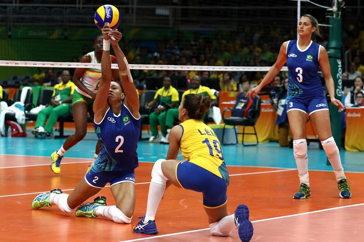 DAY 1:  Women's Volleyball - Brazil vs Cameroon