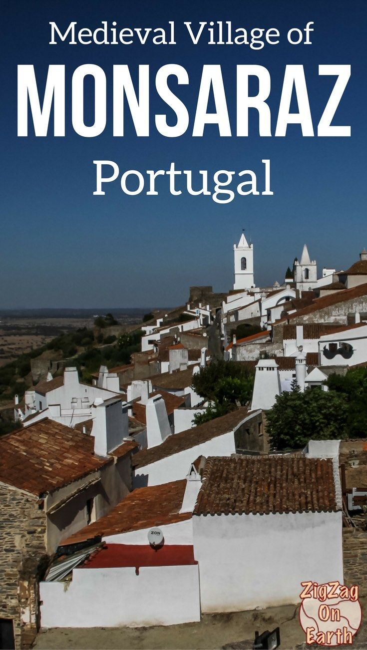 Monsaraz Portugal Travel Guide – Discover the beautiful medieval village of Monsaraz, explore its cobbled streets with white houses and don't miss the extraordinary views from the castle - Photos, Video and info to plan your visit | Portugal things to do | Portugal Itinerary | Portugal photograph