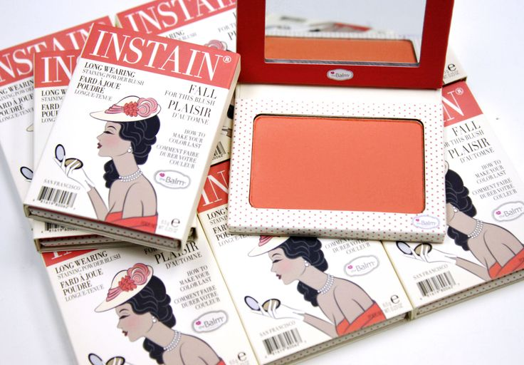 Our Instain blush in Swiss Dot is the perfect peachy-pink for spring! It pairs perfectly with our Bahama Mama bronzer for a warm sun-kissed glow!