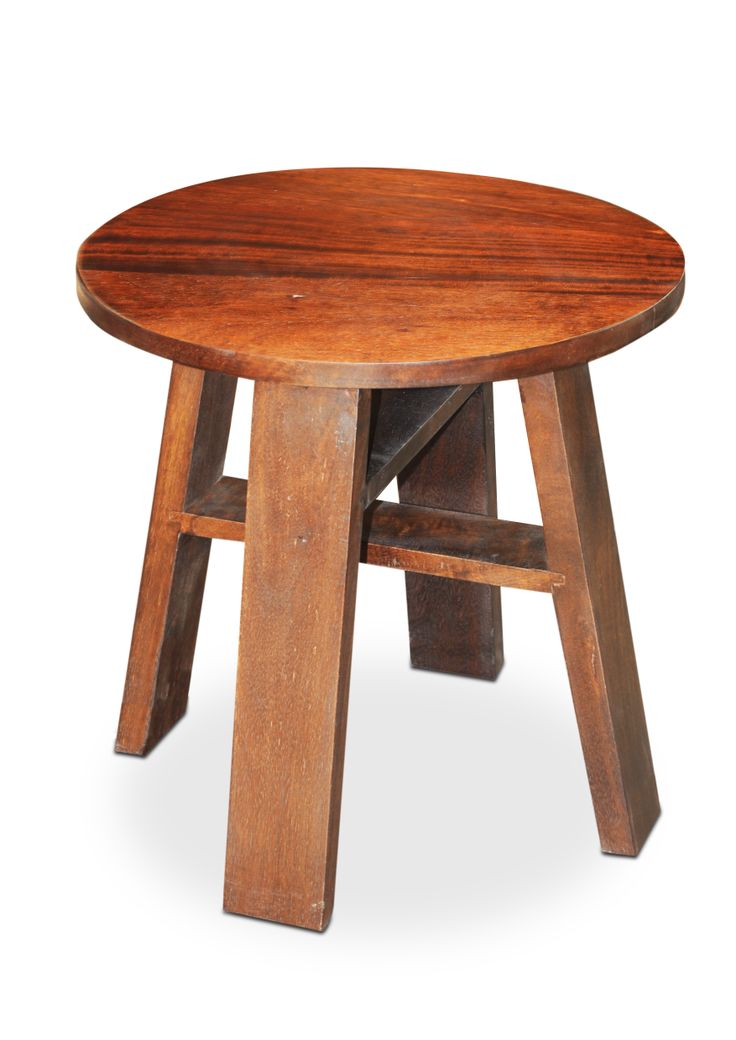 Chile Round Stool Multi Utility Table Or Stool Can Be