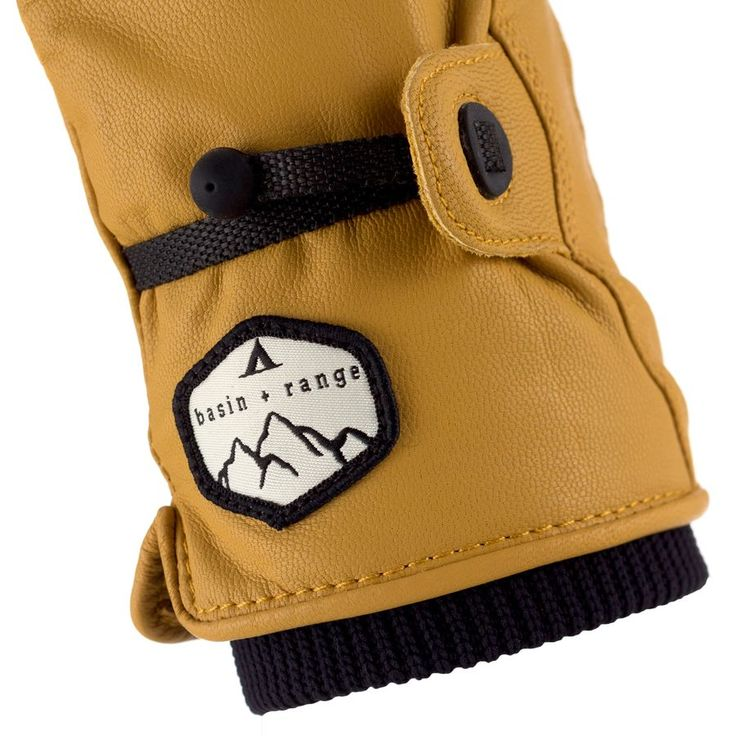 Basin and Range Leather Work Glove | Backcountry.com
