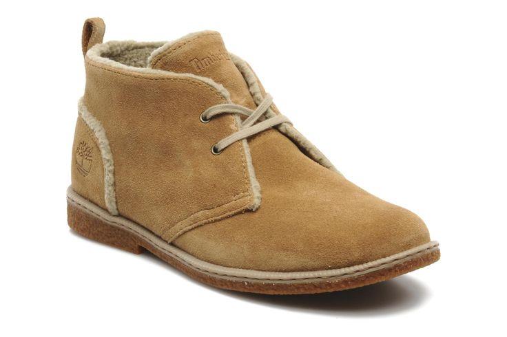 Timberland Earthkeepers Ridgefield Warm Lined Chukka (Beige) - Bottines et boots chez Sarenza (111735)