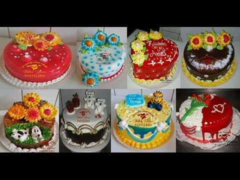 "model cream cakes / modelos de tortas en crema chantilly - ""wilber yucra"" - YouTube"