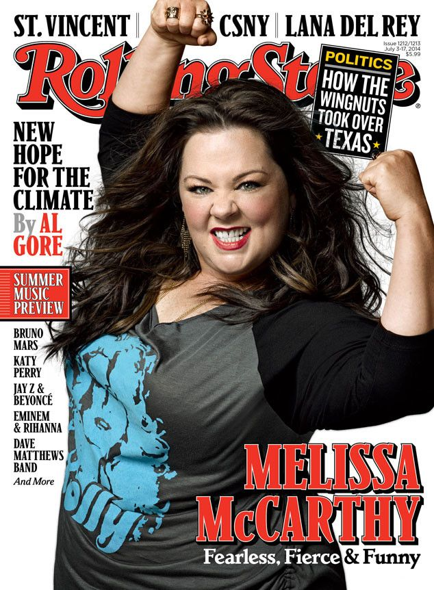Melissa McCarthy Rocks Rolling Stone Cover, Talks Dolphin Sex, Drag Queen Comedy Character | E! Online Mobile