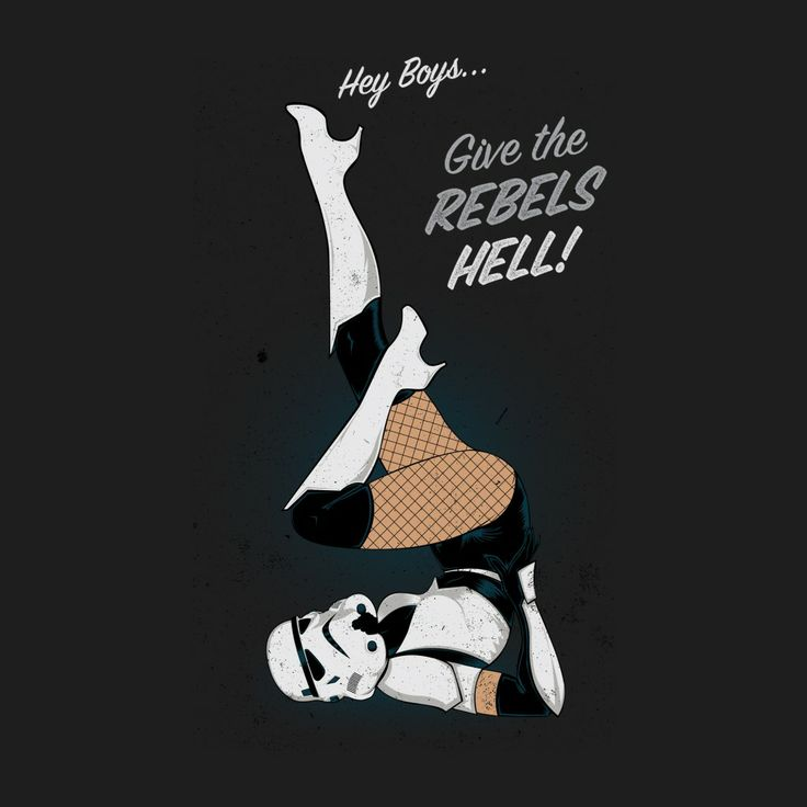 Stormtrooper Pin Up Girl Style #iPad #Wallpaper HD