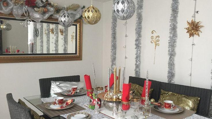 Tour sala comedor Tour room and dinimg room CHRISTMAS