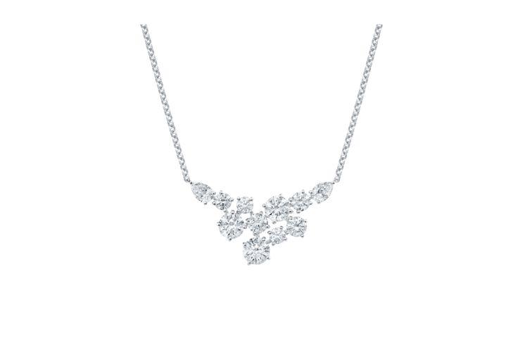 Sparkling Cluster by Harry Winston, Diamond Pendant   Harry Winston