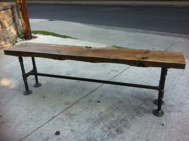 reclaimed wood bench etsy 3