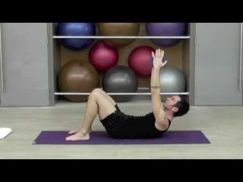 Power Yoga Abs w/Bryan Jones - 10min.