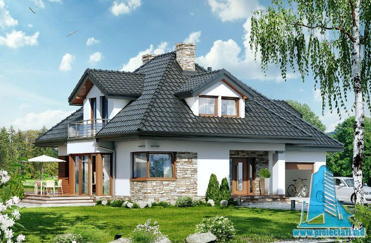 Proiect de casa cu parter, mansarda si garaj pentru un automobil-100643 http://www.proiectari.md/property/proiect-de-casa-cu-parter-mansarda-si-garaj-pentru-un-automobil-100643/