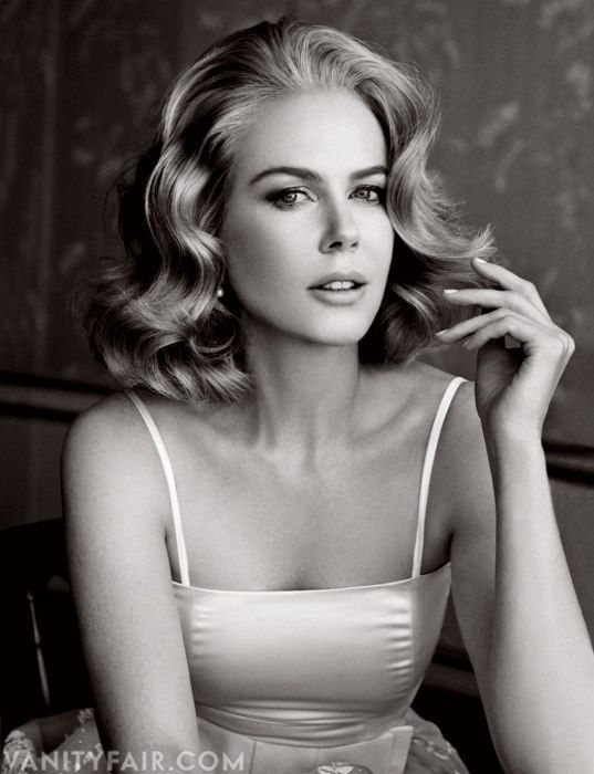 A GLAMOROUS LIFE: Nicole Kidman by Patrick Demarchelier for Vanity Fair December 2013...