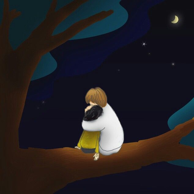 #illustration #photoshop #colouring  #rest  It's okay if you don't say anything Just come to the #Jesus ❤He #hugs #u #安らぎ in the God #心 を#抱かれた http://m.grafolio.com/challenge/106 Copyright ©Mihye-Kim All copyrights reserved