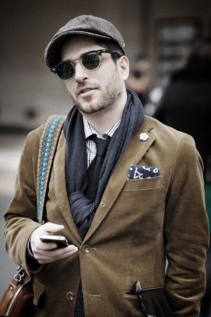 The hat..Dapper Gentleman, Brown Jackets, Men Style, Men Fashion, Tom Style, Pocket Squares, Black, Bags, Heavens