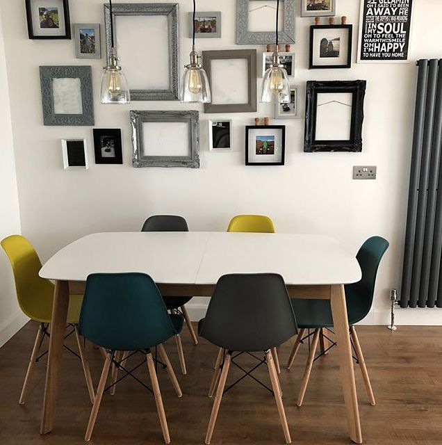 Gallery Walls with ABD and their beautiful Aver Dining Table