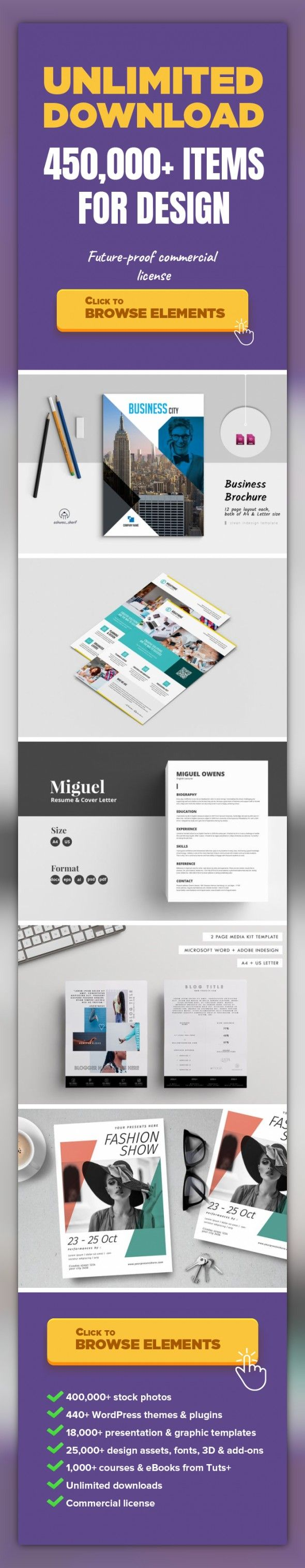 Brochure Graphic Templates Print Templates brochure business