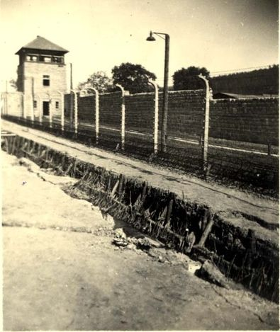Mauthausen, Austria, 1945, View of the camp, at the time of liberation.