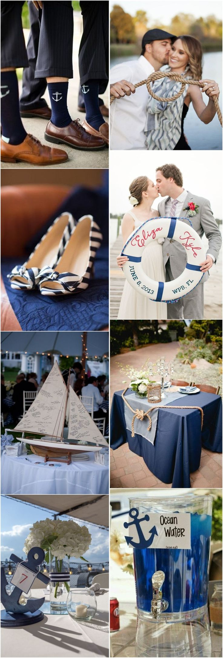 small beach wedding ceremony ideas%0A    Nautical Wedding Ideas to Rock Your Big Day