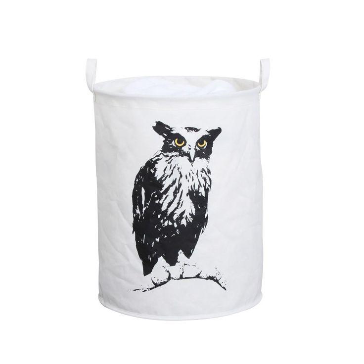 Retro Jumbo Laundry Hamper Owl Laundry Hamper Laundry