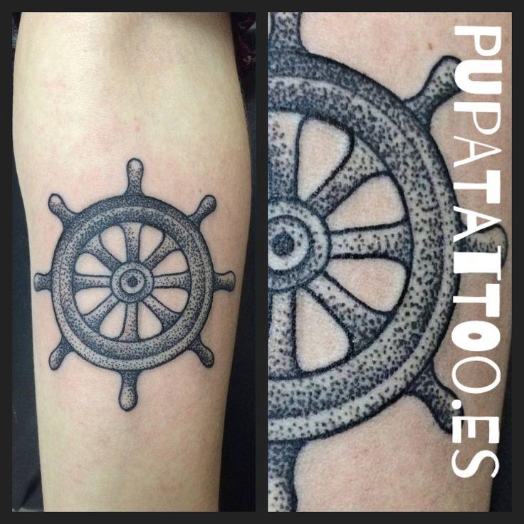 https://flic.kr/p/FxD8Yi | Tatuaje Timón Pupa Tattoo Granada | Pupa Tattoo Art Gallery     C/Molinos, 15     18009 Granada     Spain     Telf.: 958 22 12 80     instagram.com/pupa_tattoo     twitter.com/PupaTattoo     www.pupatattoo.es