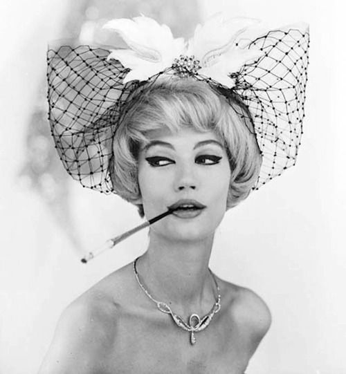 Simone d'Aillencourt by Georges Dambier, 1959.