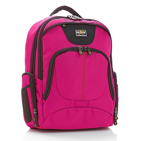 Phil Keoghan NOW Backpack with Laptop Organizer - HSN ($70) Love the break away laptop case