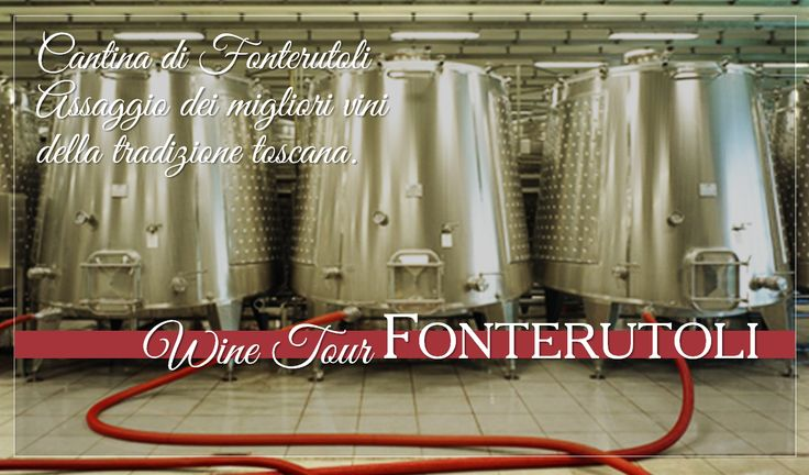 A taste of the best wines of the Tuscan tradition. For reservations for large groups contact our Enoteca at enoteca@fonterutoli.it @marchesimazzei #winetour #MarchesiMazzei #Fonteurutoli
