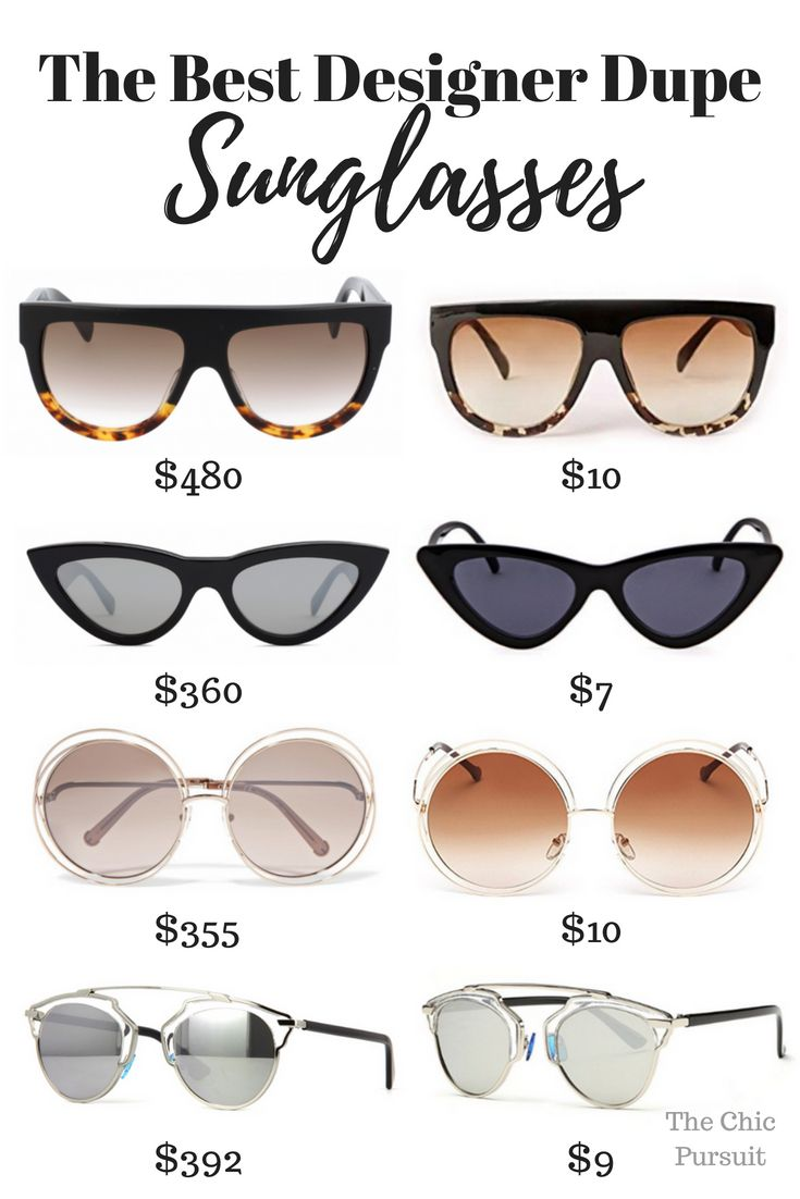 d610e14b2b The Best Designer Dupe Sunglasses For The Most Iconic Shades ...