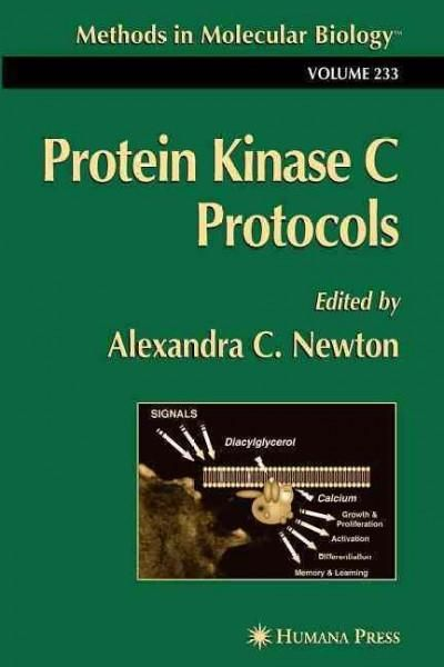 Protein Kinase C Protocols